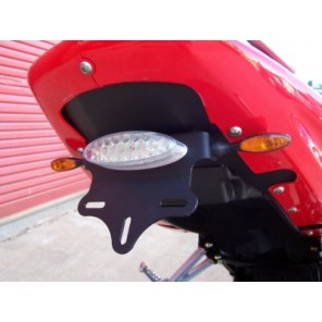 Hyosung GT Models (with R&G LEG Micro Indicators included) | R&G Tail Tidy| LP0036BK (Black)