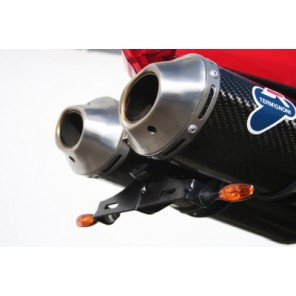Ducati 848 & 1098S (with R&G LEG Micro Indicators included) | R&G Tail Tidy | LP0041BK (Black)
