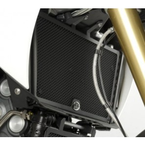 Aprilia Dorsoduro 1200 '11 | R&G Radiator Guards | RAD0107BK (Black)