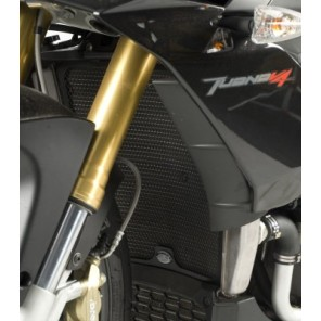 Aprilia V4 Tuono '11 | R&G Radiator Guards | RAD0109BK (Black)