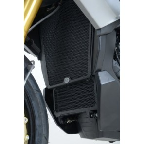 Aprilia Caponord 1200 '13 | R&G Radiator Guards | RAD0153BK (Black)