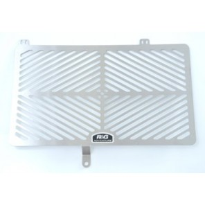BMW F650GS '08-, F700GS, F800R, F800S/ST, F800GT | R&G Stainless Steel Radiator Guard | SRG0006SS (Stainless Steel)