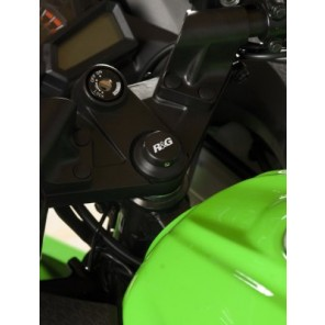 R&G Top Yoke Plug for Kawasaki Ninja 300 ('13-) and Ninja 250 ('08-) and BMW R NINE T '14- YTI0002BK