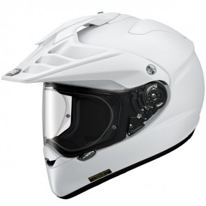 Shoei Hornet Adv Plain - Gloss White