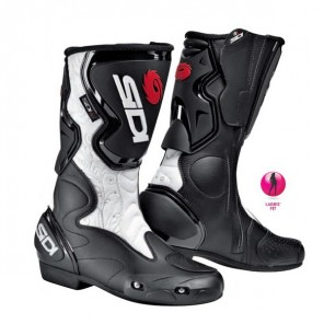 Sidi Fusion Ladies Boots - Black/White