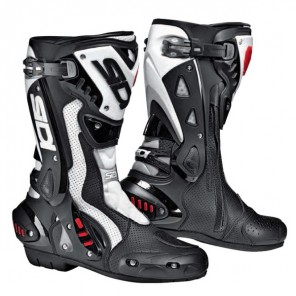 Sidi ST Air Boots - Black/White