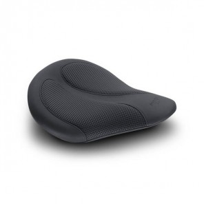 Mustang Cyclone Solo Seat With Black Textured Insert - Black