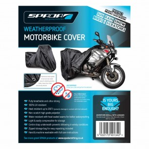 Spada Motorcycle Cover (Extra Large)