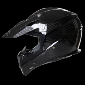 Stealth HD210 Carbon Motocross Helmet - Carbon Fibre