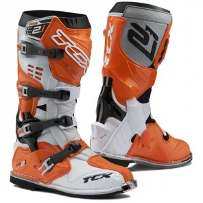 TCX Pro 2.1 Boots - White/Orange