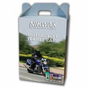 Nikwax Motorcycle Care Kit-Textile 6 Pack