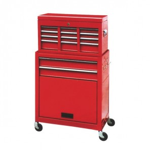 BikeTek Rolling Tool Cabinet With Top Chest