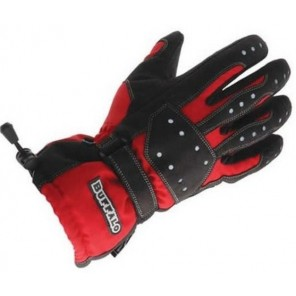 Buffalo Tracker Glove - Black / Red