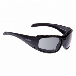 Ugly Fish Armour Sunglasses - Black - Smoke