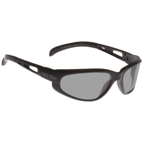 Ugly Fish Crusher Sunglasses - Black - Silver Mirror