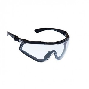 Ugly Fish Flare Sunglasses - Black - Clear