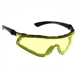 Ugly Fish Flare Sunglasses - Black - Yellow