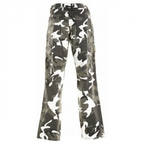 Draggin Camo Jeans  - Black / Green / Brown